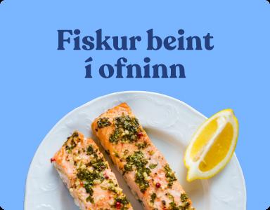 Uppskriftir og hugmyndir - fiskur beint í ofninn